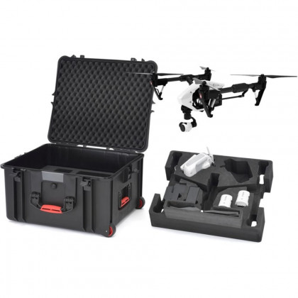 HPRC INS2730W-01 Hard Travel Case with Custom Foam for DJI Inspire 1