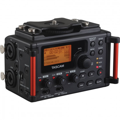 TASCAM DR-60DMK2 Tascam DR-60D Mark II Multi-Track Audio-Recorder for DSLR Cameras