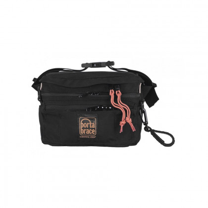 PORTABRACE HIP-2AUD Hip Pack | Audio Recorders | Black | Medium