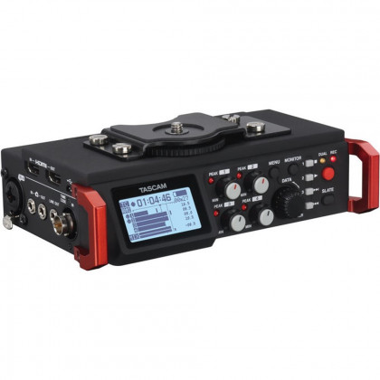 TASCAM DR-701D Tascam DR-701D 6-Track Field Recorder/Mixer with Timecode for DSLR cameras