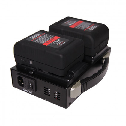 ROTOLIGHT RL-CHARGER-VL2 Rotolight Dual Channel V-Lock Battery Charger