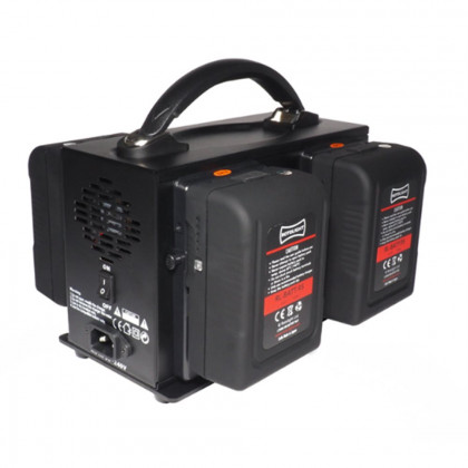 ROTOLIGHT RL-CHARGER-VL4 Rotolight 4 Channel V-Lock Battery Charger