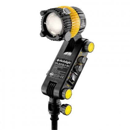 DEDO LIGHTS DLED2-BI Focusing LED light head, bicolor - intergrated ballast