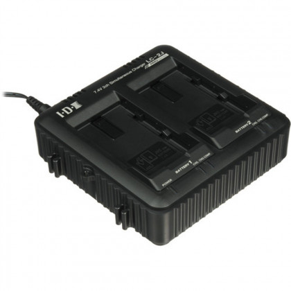 JVC LC-2J Dual battery charger for SSL-JVC50 / SSL-JVC75