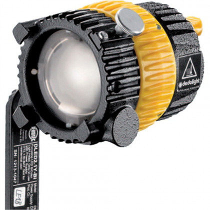 "DEDO LIGHTS DLED2Y-D Focusing 20W LED daylight head with yoke and 16mm (5/8"") rec"