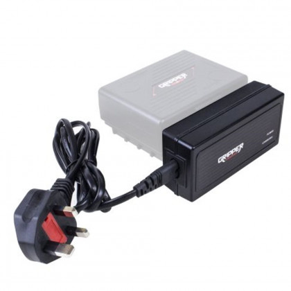HAWKWOODS GR-1C Gripper  Battery Single Ch Fast Charger (Power-con)