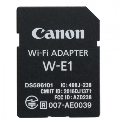CANON CONSUMER WI-FI ADAPTER W-E1 Wi-Fi adapter for 7D II and 5D