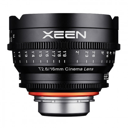SAMYANG 7981 Samyang XEEN 16mm T2.6 Nikon F Mount