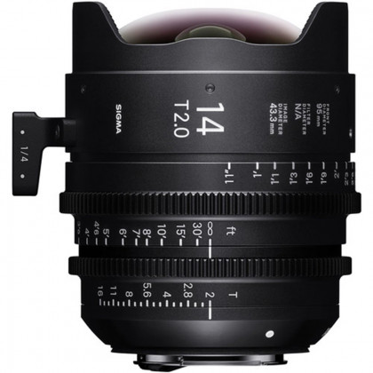 SIGMA 450968 Sigma 14mm T2.0 FF High-Speed Prime (PL Mount)