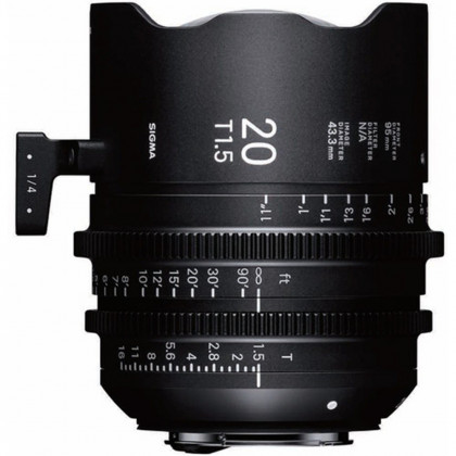 SIGMA 412966 Sigma 20mm T1.5 FF High-Speed Prime (EF Mount)