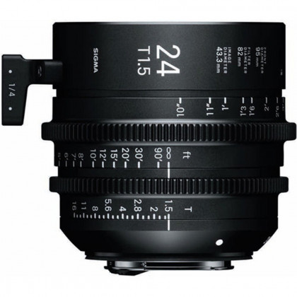 SIGMA 401966 Sigma 24mm T1.5 FF High-Speed Prime (EF Mount)