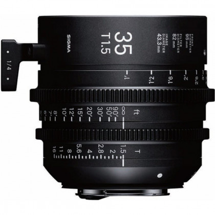 SIGMA 340966 Sigma 35mm T1.5 FF High-Speed Prime (EF Mount)