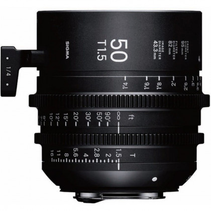 SIGMA 311966 Sigma 50mm T1.5 FF High-Speed Prime (EF Mount)