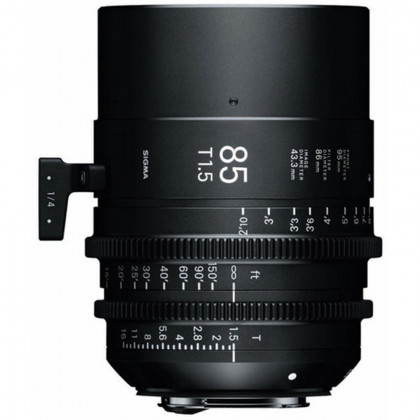 SIGMA 321967 Sigma 85mm T1.5 FF High-Speed Prime (Sony E Mount)