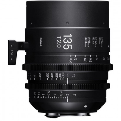 SIGMA 240968 Sigma 135mm T2.0 FF High-Speed Prime (PL Mount)