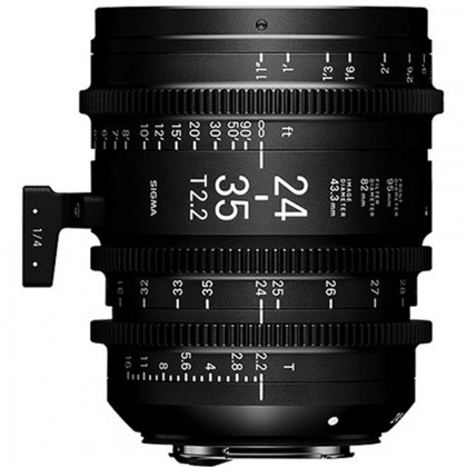 SIGMA 588966 Sigma 24-35mm T2.2 FF Zoom Cine Lens (Canon EF)