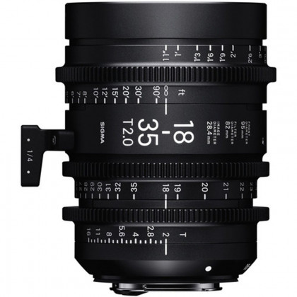 SIGMA 210966 Sigma 18-35mm T2 Cine High-Speed Zoom Lens (Canon EF)