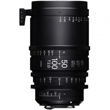 SIGMA 693966 Sigma 50-100mm T2 Cine High-Speed Zoom Lens (Canon EF)