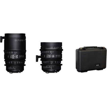 SIGMA WZQ966 Sigma 18-35mm + 50-100mm Lenses with Case (Canon EF)