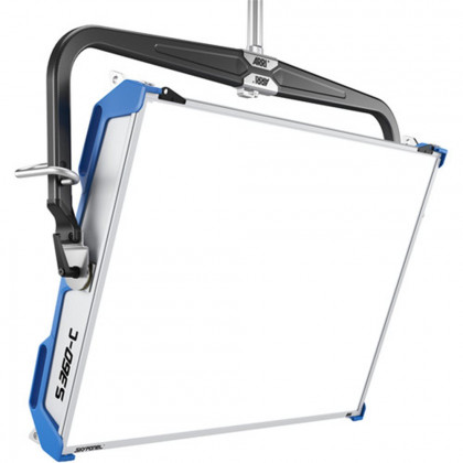 ARRI L0.0016326 ARRI SkyPanel S360-C LED Softlight - Blue/Silver, Schuko