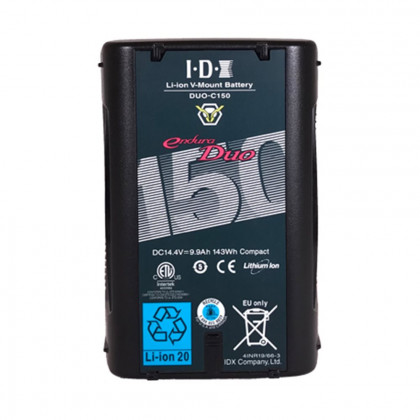 IDX DUO-C150 IDX C150 - V Mount Battery 143Wh