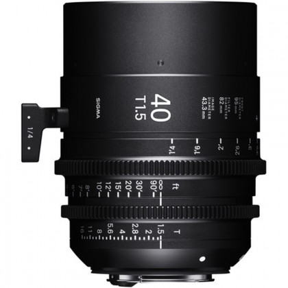 SIGMA 33F966 Sigma 40mm T1.5 FF Fully Luminous CANON