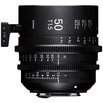 SIGMA 31F966 Sigma 50mm T1.5 FF Fully Luminous CANON