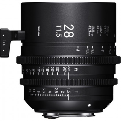 SIGMA 44F967 Sigma 28mm T1.5 Fully Luminous FF (E Mount)