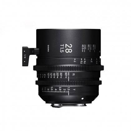 SIGMA 44D967 Sigma 28mm T1.5 FF Fully Luminous Metric (E Mount)
