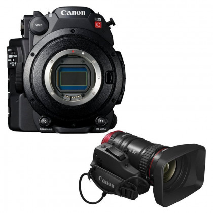 CANON CONSUMER EOS C200 + C-NE 18-80 LENS KIR CANON EOS C200 + C-NE 18-80 Lens Kit