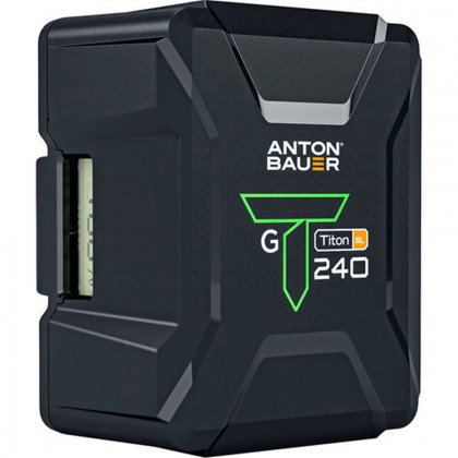 ANTON BAUER TITON SL 240 GOLD MOUNT BATTERY Anton Bauer Titon SL 240 Gold Mount Battery