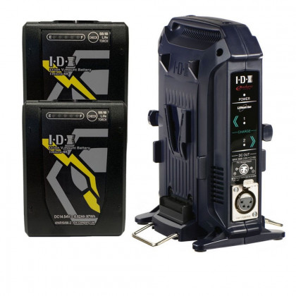 IDX IM-98/2X IDX Imicro-98 Battery VL-2X charger kit
