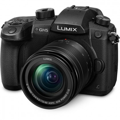 PANASONIC PAN-DCGH5MEB-K Panasonic GH5 Compact System Camera with Lumix Lens