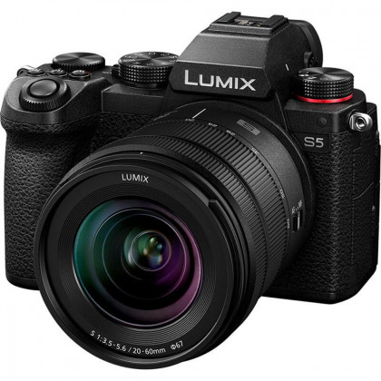 PANASONIC PAN-DC-S5KE-K Panasonic LUMIX S5 Body & 20-60mm Lens Kit