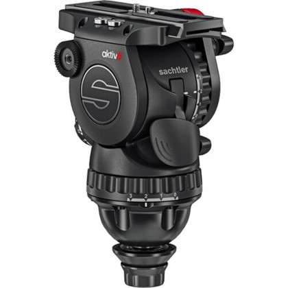 SACHTLER S2064S Sachtler aktiv™6 Sideload fluid head with SpeedLevel™ technology