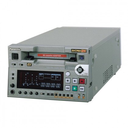 PANASONIC AJ-HD1400E DVCPRO HD Half rack VTR