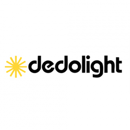 DEDO LIGHTS DL1200DHR-NB Lamp, 1200 W, Socket G22