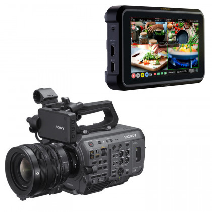 Sony PXW-FX9V with SELP28135G + ATOMOS Shogun