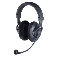 Double-sided headset without cable