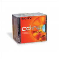 80min/700MB 1-4X Speed CD-RW 10