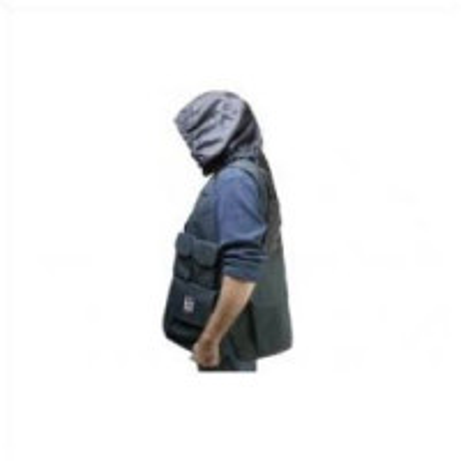 "PORTABRACE VV-LBLH Video Vest, w/Hood, (L) 42""-46"
