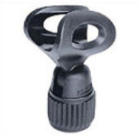 Microphone clamp for shaft 19