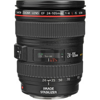 CANON CONSUMER EF 24-105MM F/4.0L IS USM Canon EF 24-105mm f/4.0L IS USM Zoom Lens