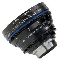 ZEISS 1834-248 Zeiss Compact Prime CP.2 28mm/T2.1 Cine Lens - EF Mount (Imperial)