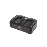 HAWKWOODS BP-2X2 Hawk-Woods Sony BP-U Style 2-Channel Fast Charger