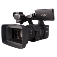 SONY FDR-AX1 4K Ultra HD camcorder with 4K image
