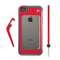 MANFROTTO MCKLYP5S-R RED BUMPER FOR iPHONE 5/5S