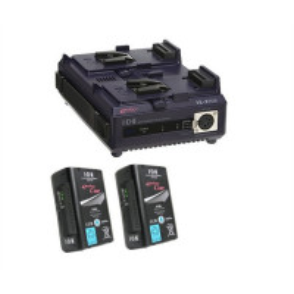 IDX EC-95/2 2 x ENDURA CUE-95 Batteries, 1