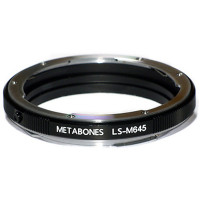 METABONES MB_M645-LS-BM1 Metabones Mamiya 645 Lens to Leica S Camera Lens Mount Adapter