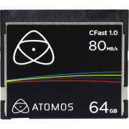 ATOMOS AO-ATOMCFT064 Atomos CFAST (1.0) 64GB Media